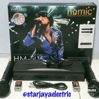 Mic/Karaoke Set Wireless VHF HOMIC HM-306