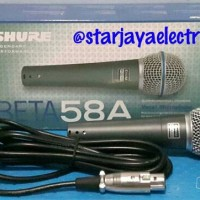 Mic/Karaoke SHURE BETA 58A