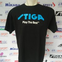 harga Kaos Baju Oblong Stiga Tenis Meja Import Bahan Cotton Combed 30s Murah Tokopedia.com