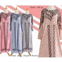 Gamis Modern Afifa / Baju Muslim Wanita / Busana Muslimah / Maxi Dress