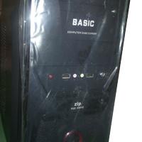 paket komputer rakitan core duo E7500/2 gb/320 GB NEW garansi