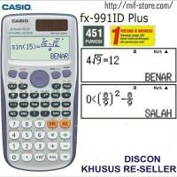 KALKULATOR CASIO Scientific Fx 991id Plus Original Grosir