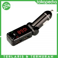 harga Bluetooth Car Charger With Bluetooth Handsfree Fm Transmitter - M318 Tokopedia.com