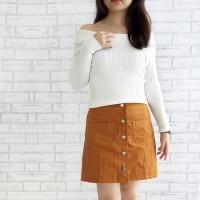 Ismaya Sabrina Knit Top (Baju Rajut Import Bangkok)