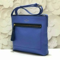 tas selempang katespade kate spade woman blue bag authentic original