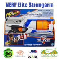 NERF N-Strike Elite Strongarm Blaster Pistol Mainan Anak Laki