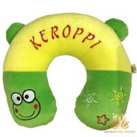 Bantal Mobil / Bantal Leher U / Travel Pillow Keroppi