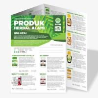 Brosur Produk Herbal Alami