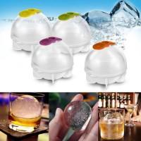 Cetakan es batu puding coklat jelly alat dapur unik bentuk bola