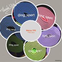 harga Matras Yoga Free Bag. Free Tali 2 Sisi /matras Yoga Tpe /yogamat Tpe Tokopedia.com