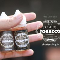PREMIUM TOBACCO E LIQUID NON/ WITH NIC RASA ROKOK MANTAP