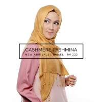 Hijab Pashmina Cashmere Import CAMEL 75x180cm, Tdk Panas, Trendy COOL