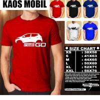 KAOS OTOMOTIF MOBIL DATSUN REDI GO SILUET TS/Baju Tshirt Balap Distro