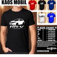 KAOS OTOMOTIF MOBIL HONDA HRV CROSSOVER SILUET TS/Baju Tshirt Balap