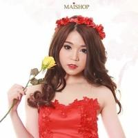 Jual Flower crown rosemary merah Murah