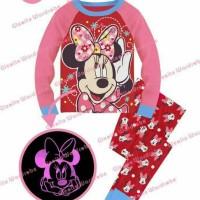 Setelan Piyama Anak Minnie Mouse Sgw 7 J