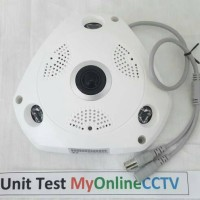 Kamera CCTV 360 Panoramic AHD Asli 2 MP 1080P Gambar Clear