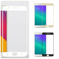 Tempered Glass Warna colour color FULL OPPO A59 F1S