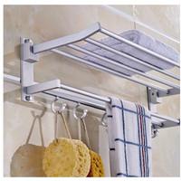 Jual Rak Handuk Dinding Toilet gantung Aluminium minimalis multifungsi baru Murah