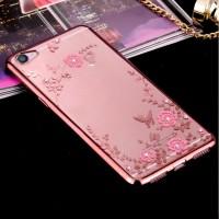 TPU Flower Vivo V5 Plus V5+ X9 Silicone Diamond Soft Case Softcase HP