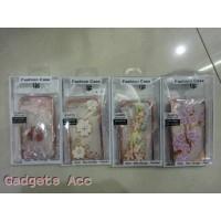 Softcase Flower Glitter For Samsung J2, Samsumg J3 Dan Samsung J5