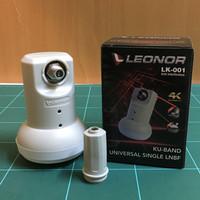 LNB ku band kuband universal merek mmp leonor untuk parabola mini
