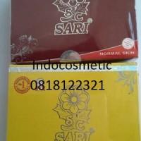 cream sari Oily (original)