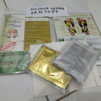 Jual Koyo kaki Bamboo Gold Detox Foot Patch - Premium Quality (ORIGINAL) Murah