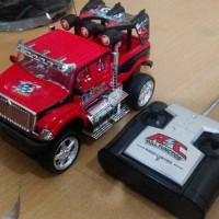 RC monster car (mobil remote control, remot kontrol, radio control)