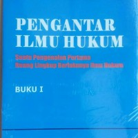 Jual Pengantar Ilmu Hukum Buku 1 -Prof. Dr. Mochtar kusumaatmaja. S.H Murah