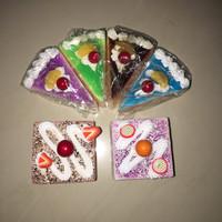 mini deco cake squishy