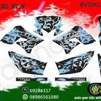 Decal KLX (bisa request custom) full body sticker striping murah