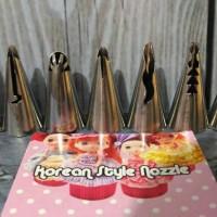 Alat Penghias Kue Tart Birthday Cake Cupcake Spuit Renda Barbie 7pcs