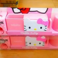 Jual dispenser odol tempat sikat gigi gelas kumur hello kitty hk murmer Murah