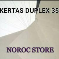 KERTAS DUPLEX 350g Plano 90x120