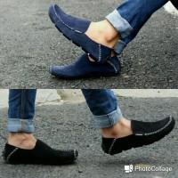 Jual Sepatu Casual Slip On / Sepatu Mocasin kulit / Sepatu Slop Pria Murah