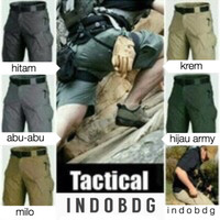 Jual Celana Tactical Blackhawk Pendek / PDL Cargo Outdoor Short Pants Murah