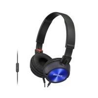 Headset/Headphones Sony monitoring MDR-ZX300 AP - Blue/biru