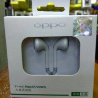 Headset Oppo R9 Handsfree Earphone Original 100%