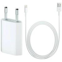 Charger Casan Iphone 5 5G 5S 5C Original 100 % Adapter Kabel Data