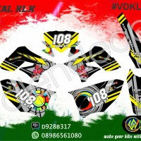Decal KLX full body, (bisa request custom GRATIS)