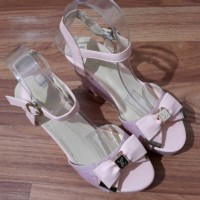 harga Sandal Wedges Tali Wedges Lv Pink Import Tokopedia.com