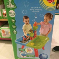 elc sand and water table / meja air dan pasir anak baru original murah