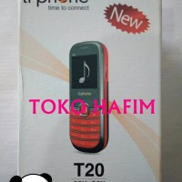 Handphone Hp Korek Api Mini Ti Phone Tiphone T 20 T20 Garansi 1 Tahun