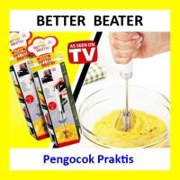 Jual Better Beater Hand Mixer Manual Pengocok Praktis Tanpa Listrik Murah