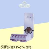 Harga touch me automatic dispenser tempat odol sikat pasta gigi | Pembandingharga.com