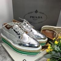 Sepatu Wanita SEPATU PRADA OXFORD / SNEAKER / PLATFORM / WEDGES