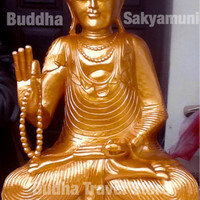 Patung Sidharta Gautama (Budha Sakyamuni) Membawa Kebahagiaan T 100cm