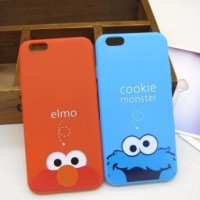 IPhone 7 iPhone7 Elmo Cookie Monster Blue Soft Case Softcase Casing HP