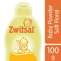 Zwitsal Baby Powder Classic Soft Floral 100gr